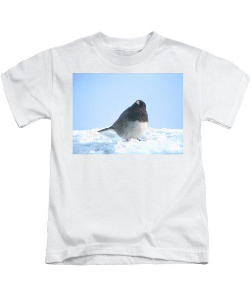 Snow Hopping #2 Kids T-Shirt