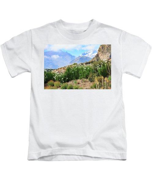 Snow In The Desert Kids T-Shirt