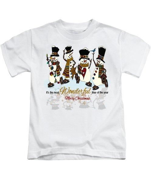 Snow Play Kids T-Shirt