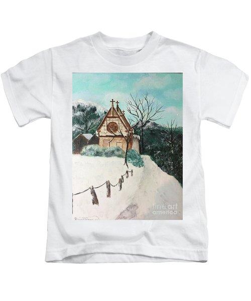 Snowy Daze Kids T-Shirt