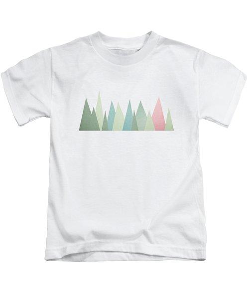 Snowy Mountains Kids T-Shirt