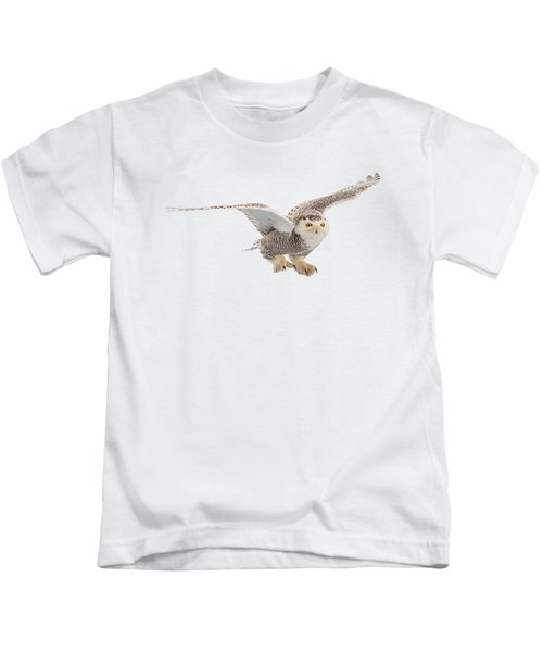 Snowy Owl T-shirt Mug Graphic Kids T-Shirt