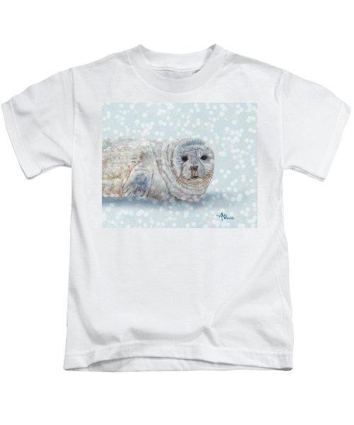 Snowy Seal Kids T-Shirt