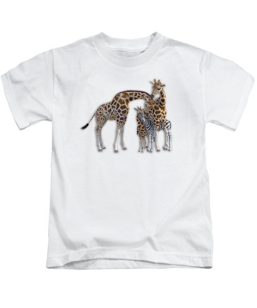 Sometimes You Have To Find The Right Spot To Fit In Kids T-Shirt by Betsy Knapp