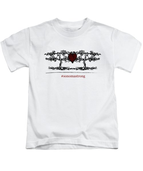 Sonoma Strong Kids T-Shirt