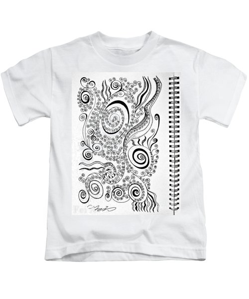 Sound Of The Lines Kids T-Shirt