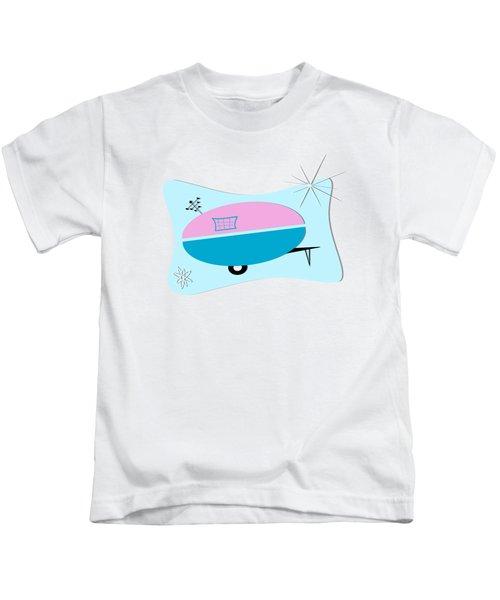 Space Age Camper Kids T-Shirt
