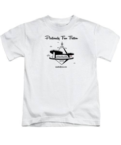 Space Station Kids T-Shirt by Ana Baird