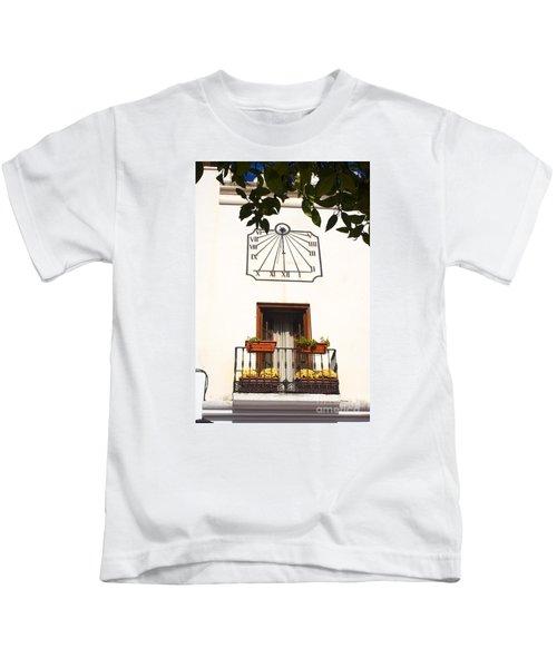 Spanish Sun Time Kids T-Shirt
