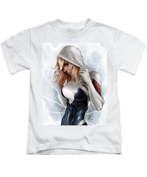 Spider Gwen Kids T-Shirt