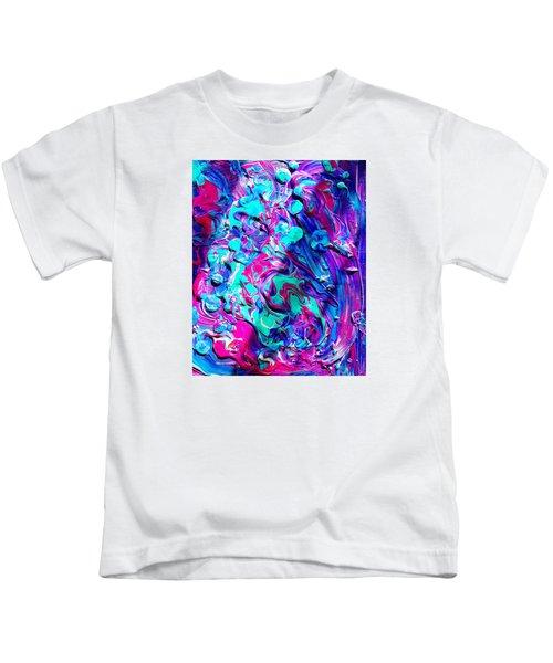 Splash Of Color Kids T-Shirt