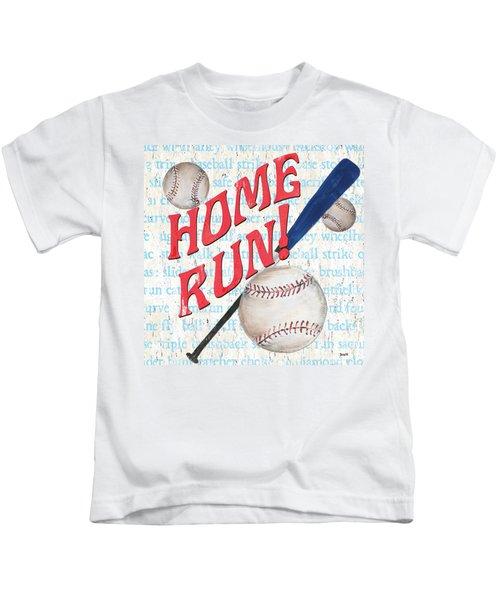 Sports Fan Baseball Kids T-Shirt