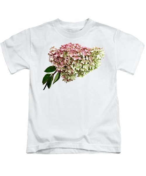 Sprig Of Hydrangea Kids T-Shirt