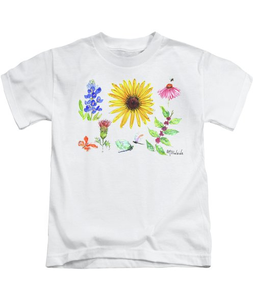 Spring 2017 Medley Watercolor Art By Kmcelwaine Kids T-Shirt