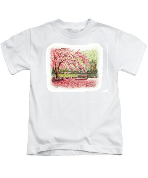 Spring At Lithia Park Kids T-Shirt