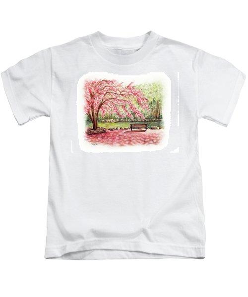 Spring At Lithia Park Kids T-Shirt