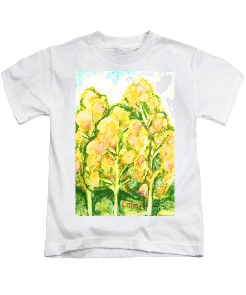 Spring Fantasy Foliage Kids T-Shirt