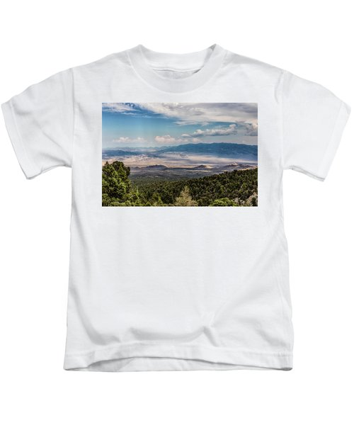 Spring Mountains Desert View Kids T-Shirt