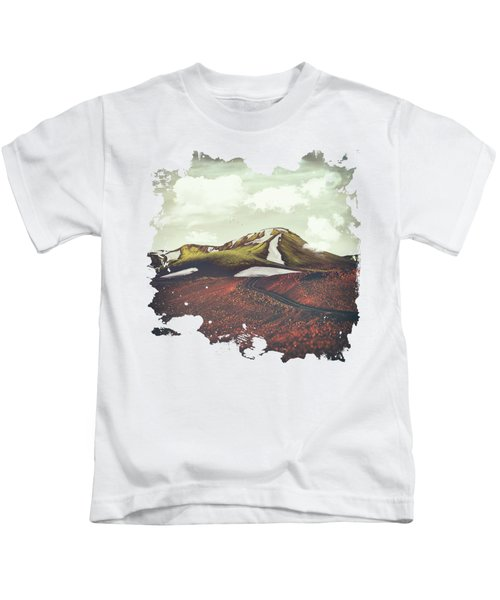 Spring Thaw Kids T-Shirt by Katherine Smit
