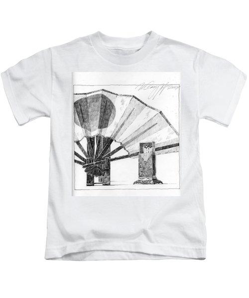 Spirit Of Japan. Fan And Matchbox Kids T-Shirt