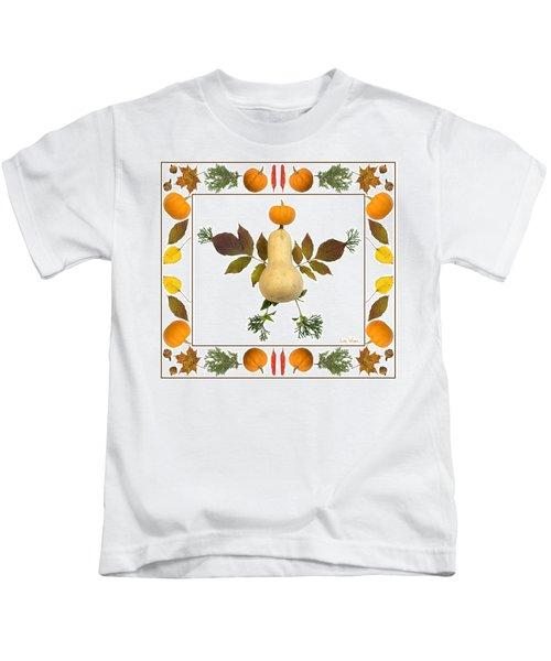 Squash With Pumpkin Head Kids T-Shirt