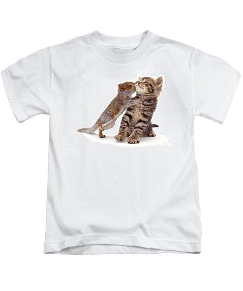 Squirrel Kiss Kids T-Shirt