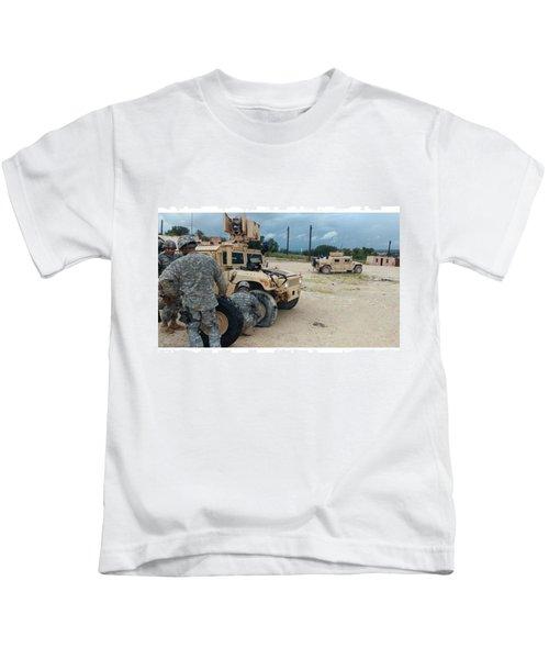 Ssg Carey's Famous Last Words: what Kids T-Shirt