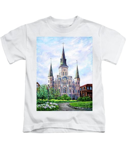 St. Louis Cathedral Kids T-Shirt