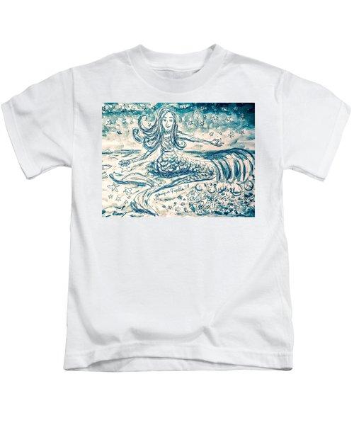 Star Bearer Mermaid Kids T-Shirt