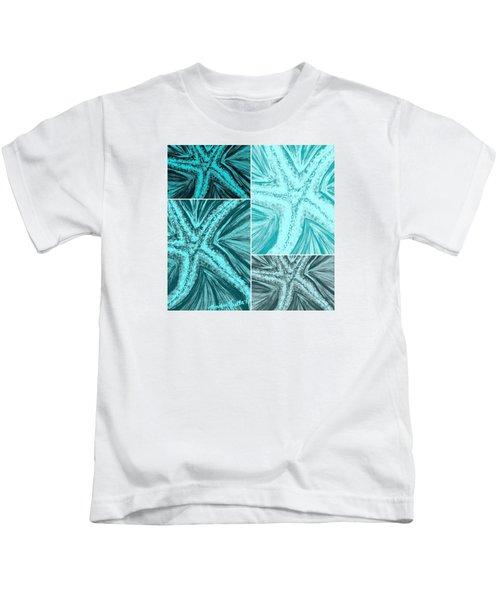 Starfish Pop Art Kids T-Shirt