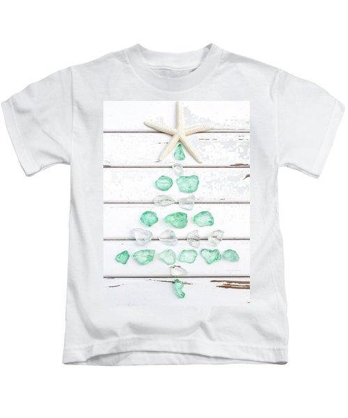 Starfish Christmas Tree Kids T-Shirt
