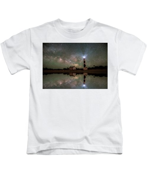 Starry Reflections Kids T-Shirt