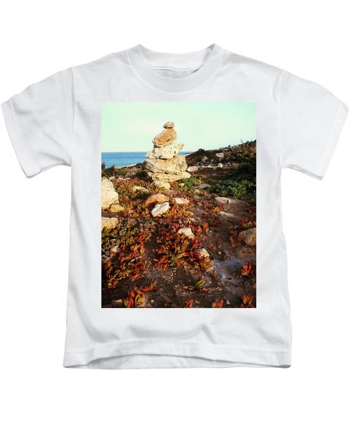 Stone Balance Kids T-Shirt