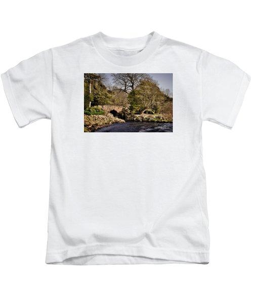 Stone Bridge On The Lake Kids T-Shirt