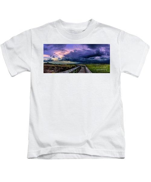 Storm Clouds Kids T-Shirt