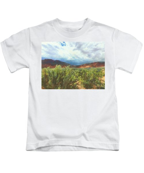 Storm The Castle Gates Kids T-Shirt