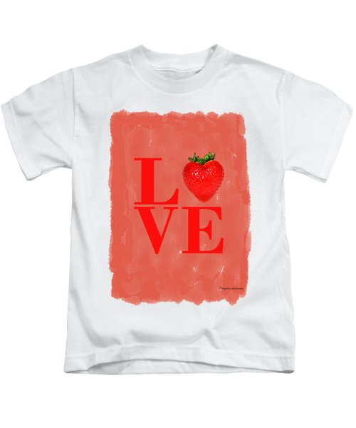 Strawberry Kids T-Shirt