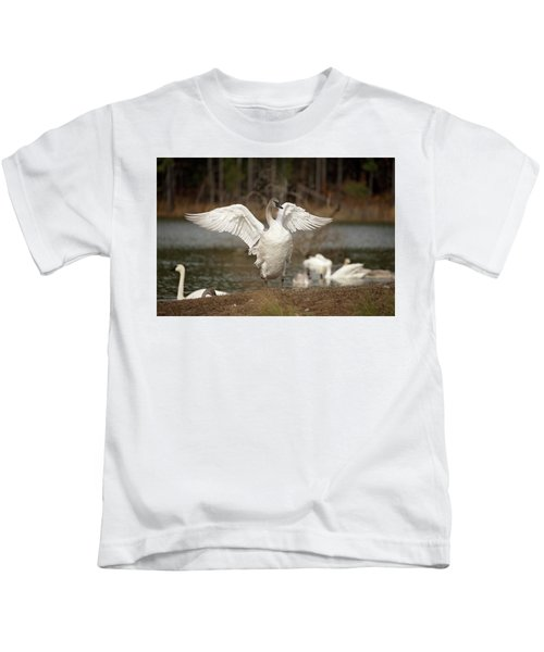 Stretch Your Wings Kids T-Shirt