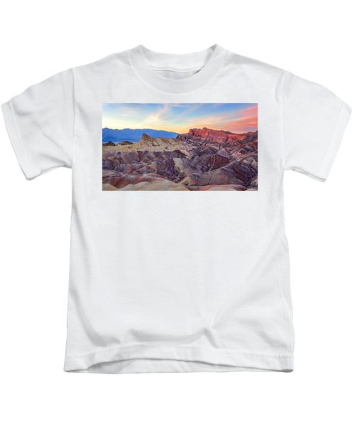 Striated Erosion Kids T-Shirt