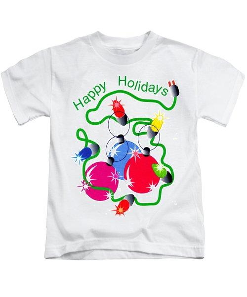 String Of Lights Kids T-Shirt