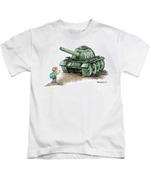 Students Vs The Nra Kids T-Shirt