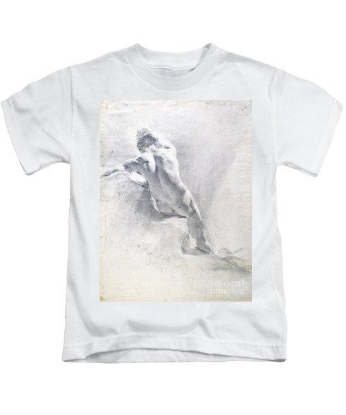 Study Of A Male Nude Kids T-Shirt