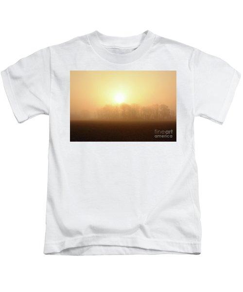 Subtle Sunrise Kids T-Shirt