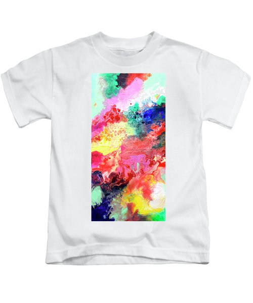 Subtle Vibrations, Canvas Four Of Five Kids T-Shirt