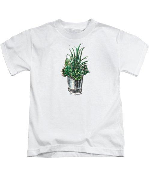 Succulents Kids T-Shirt