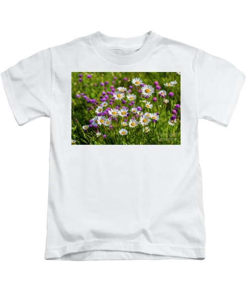 Summer Blooms Kids T-Shirt