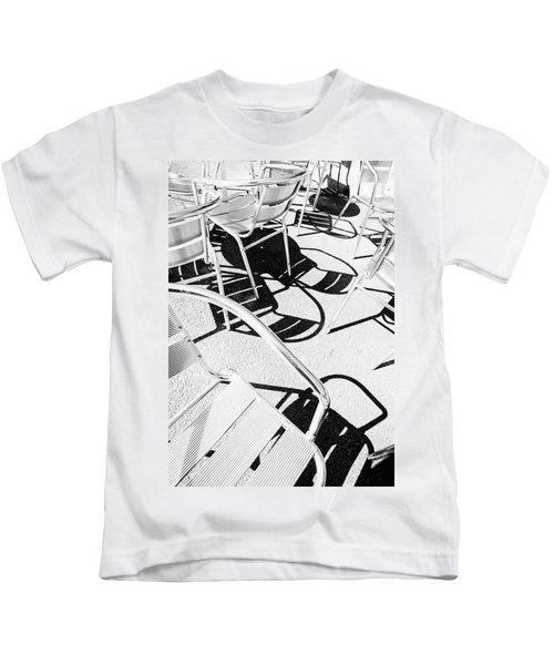 Summer Chair Pattern Kids T-Shirt