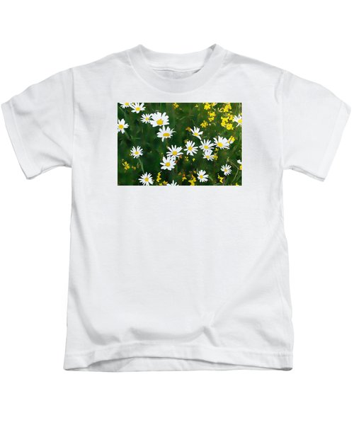 Summer Daisies Kids T-Shirt
