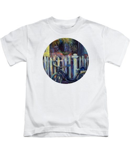 Summer Days Kids T-Shirt by Mary Wolf