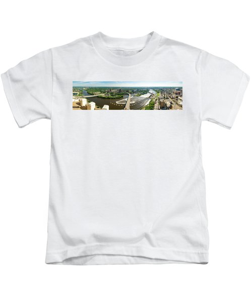 Summer In The Mill City Kids T-Shirt